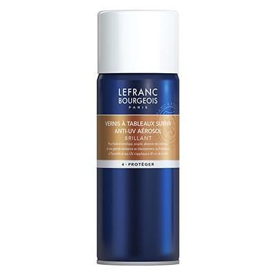 Werniks błyszczący Lefranc & Bourgeois, spray 400 ml
