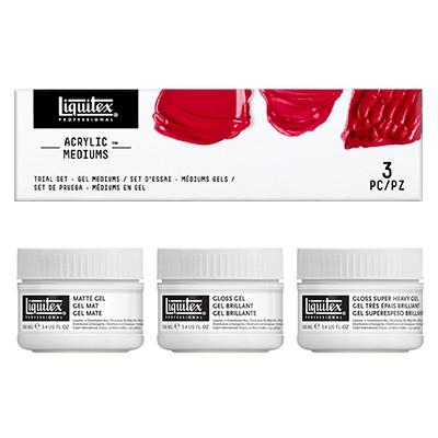 trial set gel mediums
