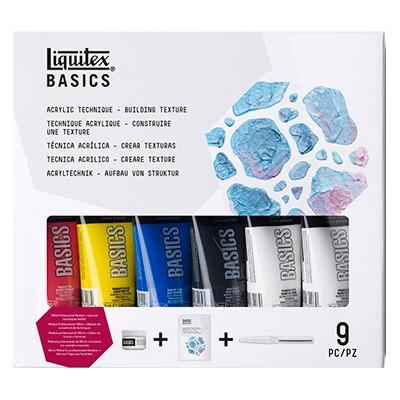 building texture liquitex set