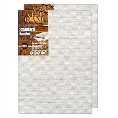 80 x 100 cm, podobrazie bawełniane Standard, 2–pak
