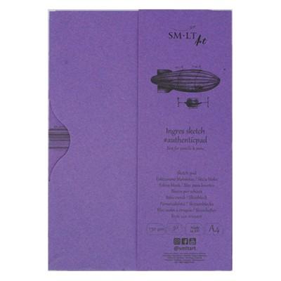 Papier Ingres w etui A4 SMLT 130 g
