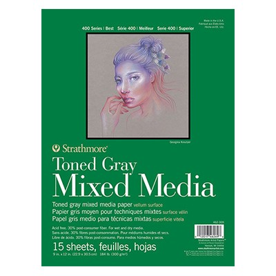 MixMedia Toned Grey Strathmore