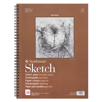 Szkicownik Sketch Strathmore, 100 ark. 89 g, A5