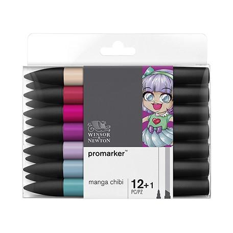 promarker manga chibi set