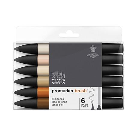 brushmarker skin tones set