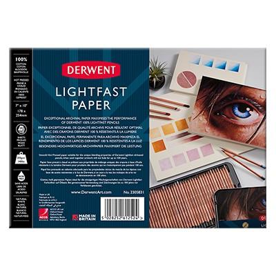 Lightfast Paper blok rysunkowy Derwent, 17 x 25 cm