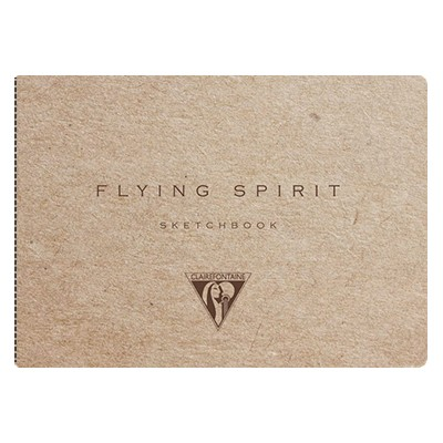 Szkicownik Flying Spirit Kraft 10,5 x 14,8 cm, 50 ark.