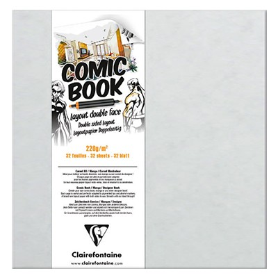 comic book double face clairefontaine