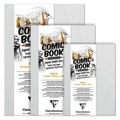 Blok do markerów Comic Book 17,6 x 25 cm, 32 ark.