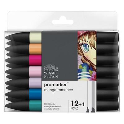 Manga Romance promarker set