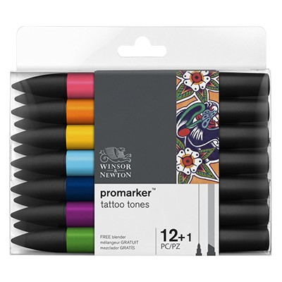 tattoo tones promarker set