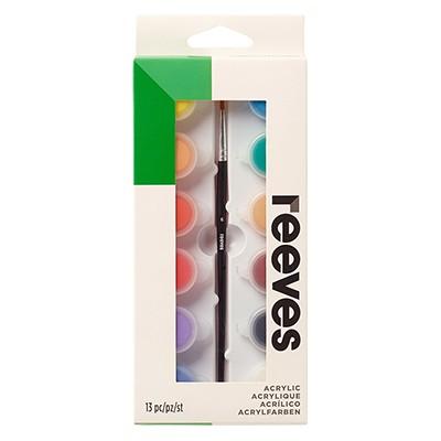 Farby akrylowe zestaw firmy Reeves, 12 x 5ml