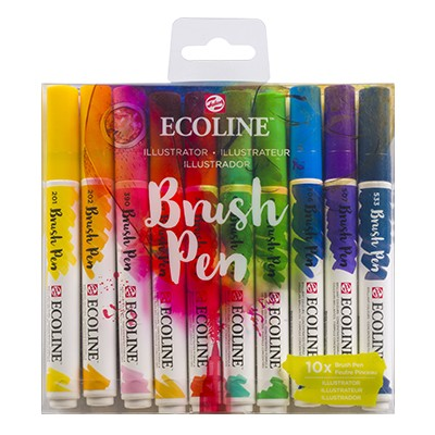 Ecoline Brush Pen Talens