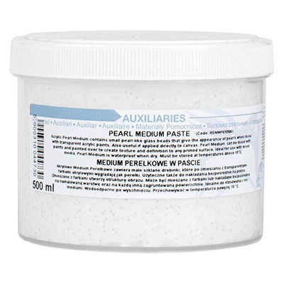 pearl medium paste renesans