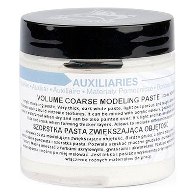 volume coarse modeling paste