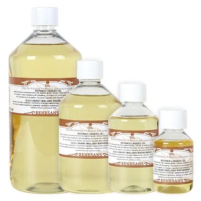 Olej lniany bielony