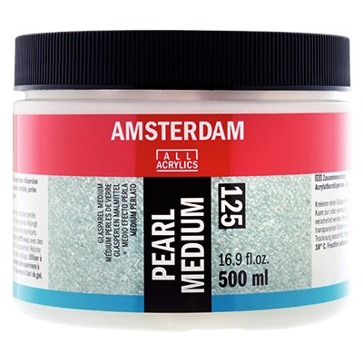 Medium żelowe perłujące Amsterdam, pearl medium 500ml