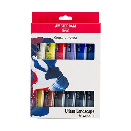 Farby akrylowe Talens Amsterdam Urban