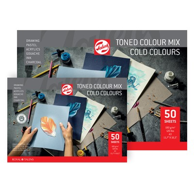 Blok Toned Cold Colour Mix Royal Talens
