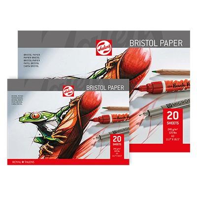 Blok Bristol Paper Royal Talens, 20 ark. A4