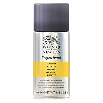 Fiksatywa do pasteli, węgli, ołówków, W&N, spray 150ml.