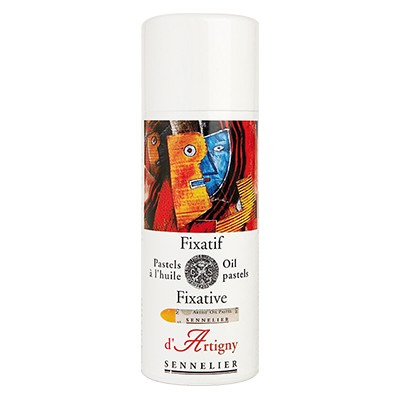 Fiksatywa do pasteli olejnych, Sennelier, spray 400 ml
