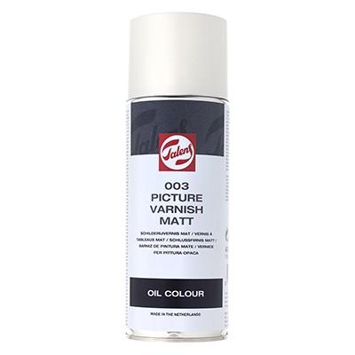 003 Werniks końcowy matowy, Talens, spray 400 ml