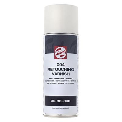 004 Werniks retuszerski, Talens, spray 400 ml