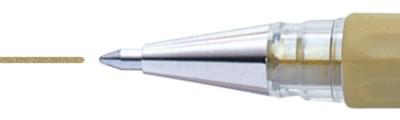 Złoty długopis żelowy, Pentel K118