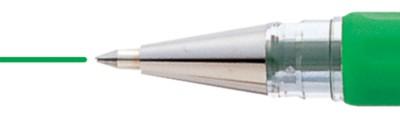 zielony długopis żelowy Pentel K116