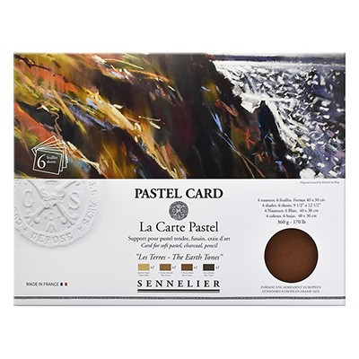 Pastel Card Earth Tones Sennelier
