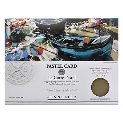 Pastel Card Light Grey Sennelier