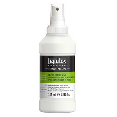 Palette wetting spray, Liquitex 237ml