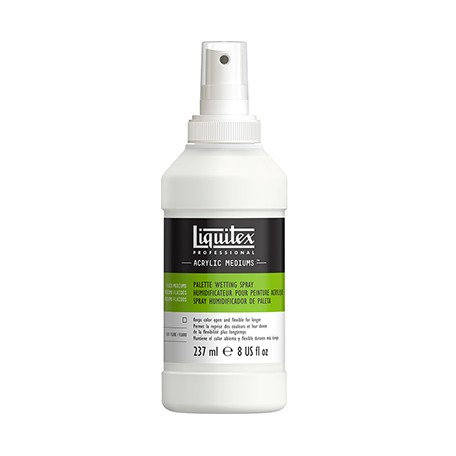 Palette wetting spray Liquitex
