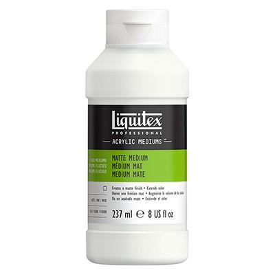 Medium matowe do farb akrylowych, Liquitex 237ml