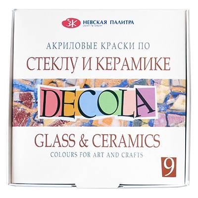 Farby do szkła i ceramiki Decola