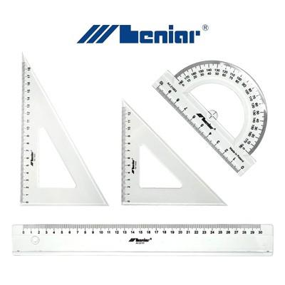 Zestaw akcesoriów do geometrii, Leniar