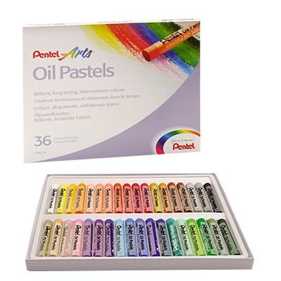 Pastele olejne 36 kolorów Pentel