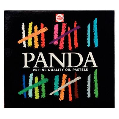 Pastele olejne PANDA, Talens, zestaw 24 kol.
