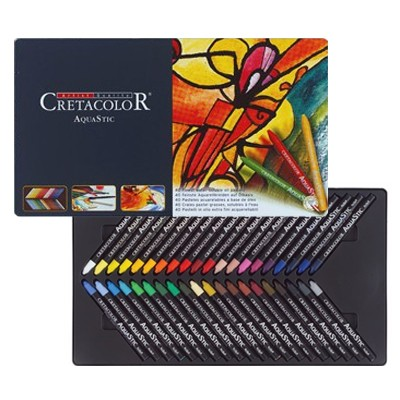 wodorozmywalne pastele olejne cretacolor