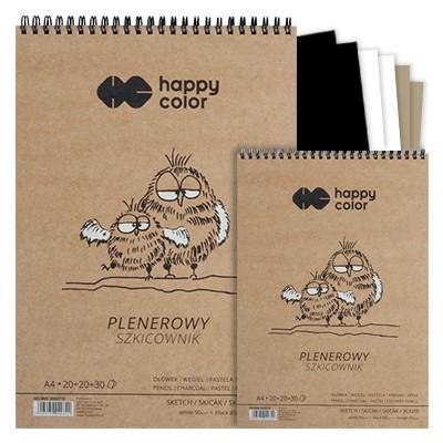 szkicownik plenerowy happy color