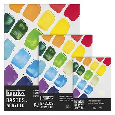 Blok do farb akrylowych Liquitex, 12 ark. 300 g, A5