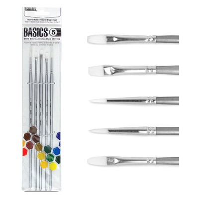 liquitex basics nylon brush