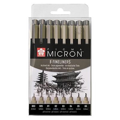 Pisaki precyzyjne Pigma Micron