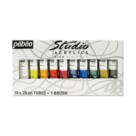 Farby akrylowe Studio Acrylics