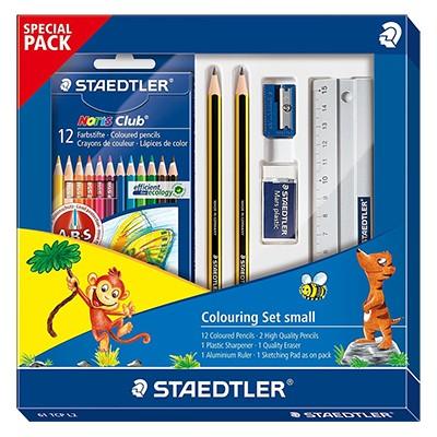 Mały zestaw rysunkowy dla dzieci, Staedtler, 18 elementów