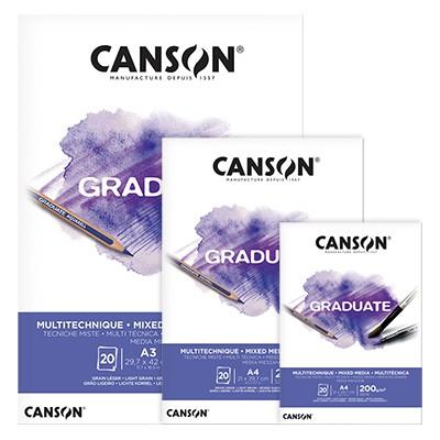 Blok Canson Graduate Mixed Media