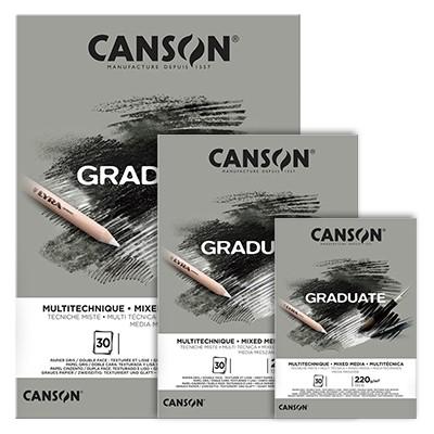 Blok Canson Graduate Grey