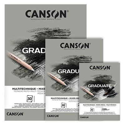 Blok Canson Graduate Grey A5