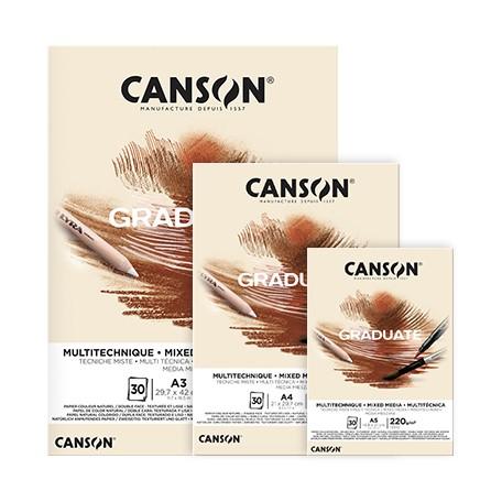 Blok Canson Graduate Natural A4